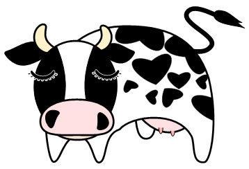 図形・ワードアート[牛]の描き方